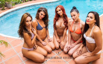 Hair / Makeup / Airbrush Tanning by: Effleurage Studio Artistry Team