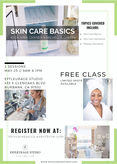 event skin care basics